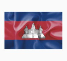 Cambodia Flag One Piece - Long Sleeve