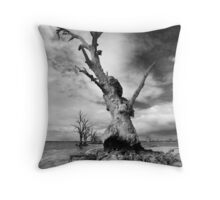 Crab Tree - Mono Throw Pillow
