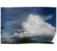 Saskatchewan's Living Skies Poster