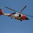 USCG helicopter 6032 at American Heroes Air Show 2010 by chibiphoto