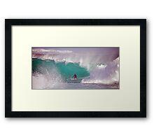 Aqua Marine Framed Print