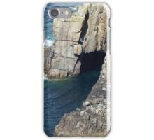 Cave at Lands End iPhone Case/Skin
