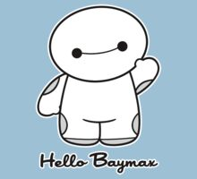 Hello Baymax - parody Kids Clothes