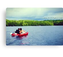 Scenic Love Canvas Print