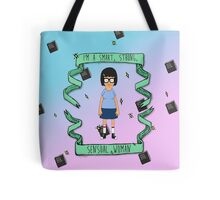 smart, strong, sensual woman Tote Bag