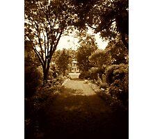 Garden Path, Brandon Plantation Photographic Print