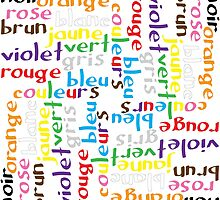 French colour words IV by Morag Anderson