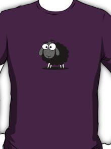 Black Sheep Cartoon Funny T-Shirt Sticker bedspread T-Shirt