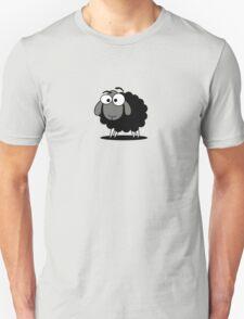 Black Sheep Cartoon Funny T-Shirt Sticker Duvet Cover Unisex T-Shirt