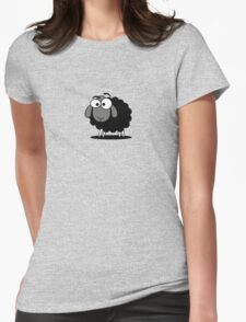 Black Sheep Cartoon Funny T-Shirt Sticker Duvet Cover T-Shirt