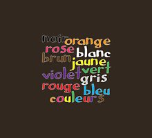 French colour words Unisex T-Shirt