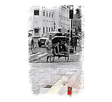 Red Signal Photographic Print