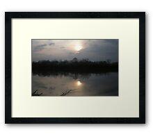 Cumberland River Framed Print