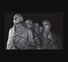 Mount Rushmore National Memorial Scale Model T-Shirt