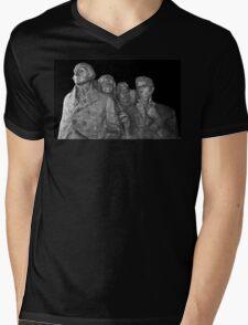 Mount Rushmore National Memorial Scale Model Mens V-Neck T-Shirt