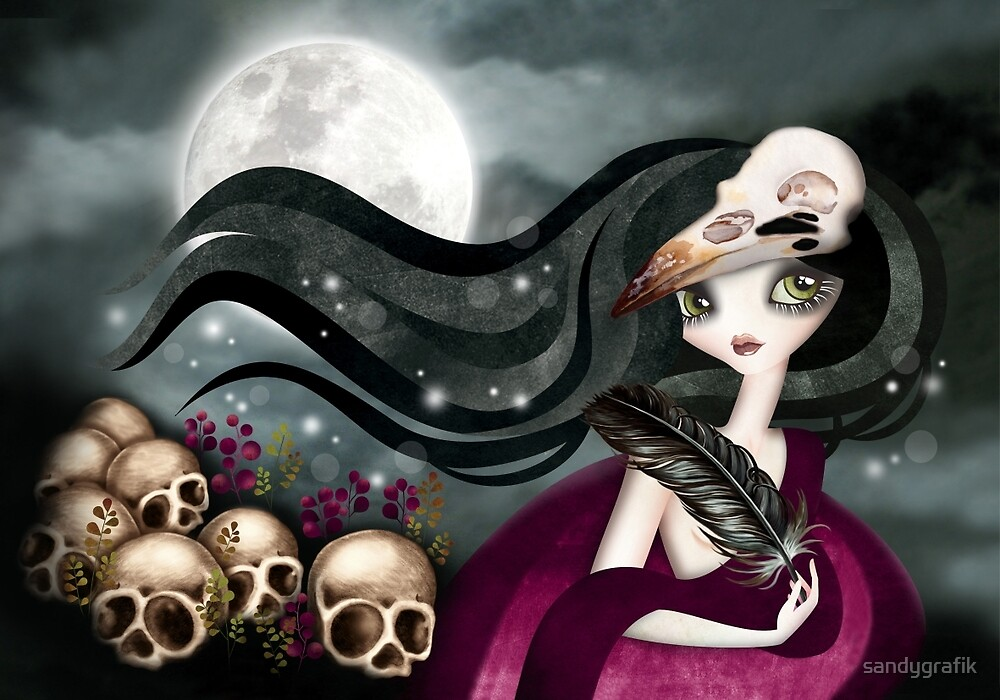 The Witching Hour by sandygrafik