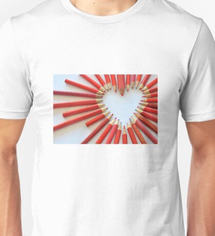 To the heart Unisex T-Shirt
