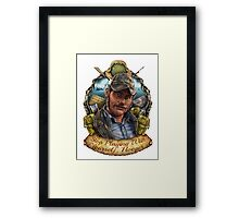 Stop Playing With Yourself, Hooper. Framed Print