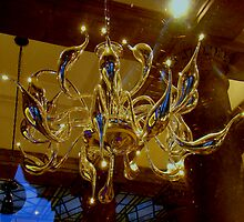 Venetian Glassblown Chandelier by Al Bourassa