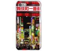Kabukicho Shinjuku Tokyo iPhone Case/Skin