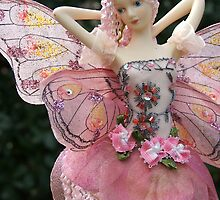 Fairy Doll with Cloth Wings - portrait by Allison Millcock
