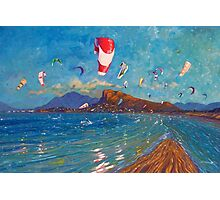 Wind Lovers Photographic Print
