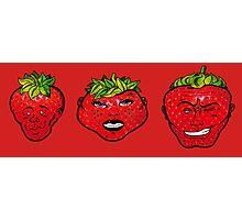 Rawberries Photographic Print