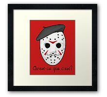 Psycho Killer Framed Print