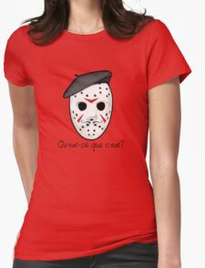 Psycho Killer Womens Fitted T-Shirt