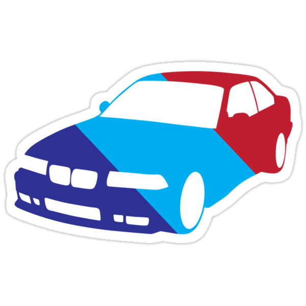 BMW e36 in Racing Colors by Andre Gascoigne