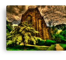 Angry Spring Canvas Print