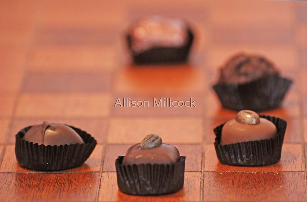 Chocolate Chess by Allison Millcock