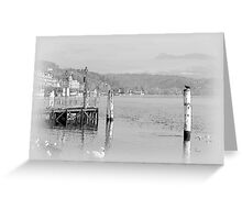 Lucerne and the lake Greeting Card