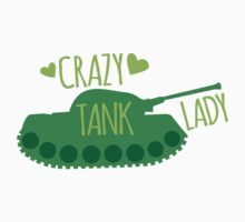Crazy Tank Lady One Piece - Long Sleeve