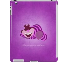 Alice in Wonderland inspired design (Cheshire Cat). iPad Case/Skin