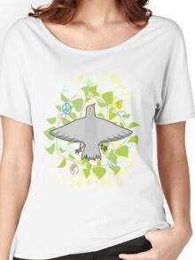 Peace pigeon Women's Relaxed Fit T-Shirt