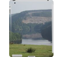 A lake in the Welsh hills iPad Case/Skin