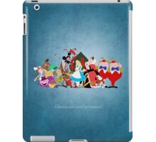 Alice in Wonderland inspired design. iPad Case/Skin
