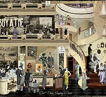 Art Deco Shopping Center by PrivateVices