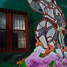 Sydney Graffiti #5 by Nenad  Njegovan