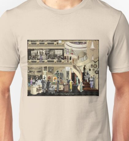 Art Deco Shopping Center Unisex T-Shirt