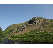 A Craggy Outcrop Photographic Print