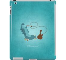 Alice in Wonderland inspired design (Caterpillar). iPad Case/Skin