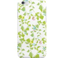 peace flowers iPhone Case/Skin