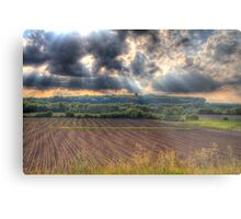 A Beautiful End to a Beautiful Day-2 Metal Print