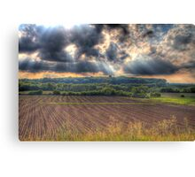 A Beautiful End to a Beautiful Day-2 Canvas Print