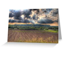 A Beautiful End to a Beautiful Day-2 Greeting Card
