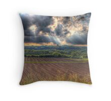 A Beautiful End to a Beautiful Day-2 Throw Pillow