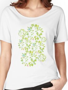 peace flowers Women's Relaxed Fit T-Shirt