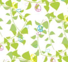 peace flowers Sticker